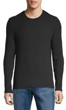 ATM Anthony Thomas Melillo Modal Rib Long Sleeve Top