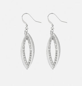 Avenue Stone Marquise Drop Earrings