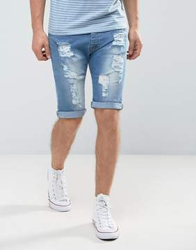 Loyalty And Faith Oldham Ripped Denim Shorts