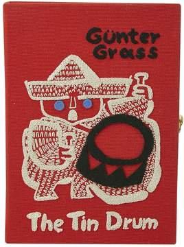 Olympia Le-Tan Olympia Le Tan Red Cloth Clutch Bag