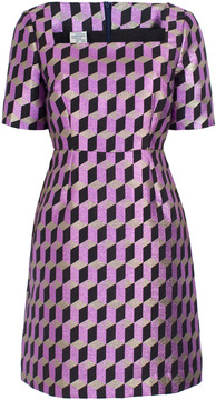 Baum und Pferdgarten Aila Geometric Print Mini Dress