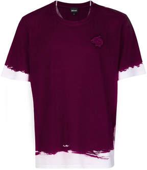 Just Cavalli colour block T-shirt