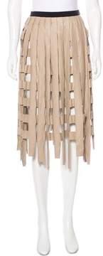 Aviu Cutout Midi Skirt w/ Tags