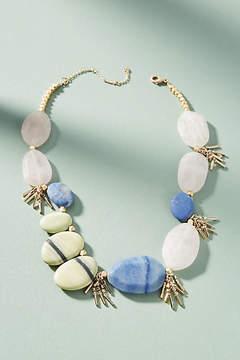 Anthropologie Pia Asymmetrical Bib Necklace
