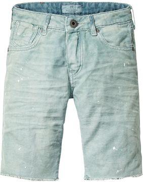 Scotch & Soda 5-Pocket Shorts With Paint Spots