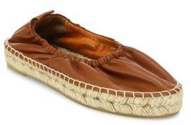 Vince Rae Espadrille Leather Flats