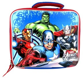 Marvel Avengers 3D Lunch Bag