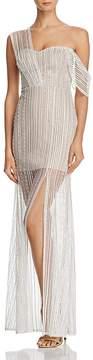 Aqua Zendaya x Embroidered One-Shoulder Gown - 100% Exclusive