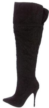 Elizabeth and James Lace Over-The-Knee Boots