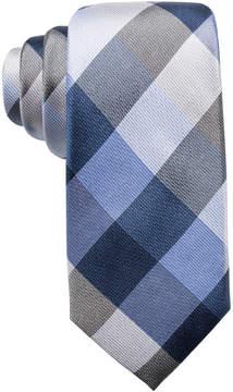Ryan Seacrest Distinction Men's Weho Check Slim Silk Tie, Created for Macy's