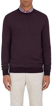 Loro Piana Men's Cashmere-Blend Crewneck Sweater