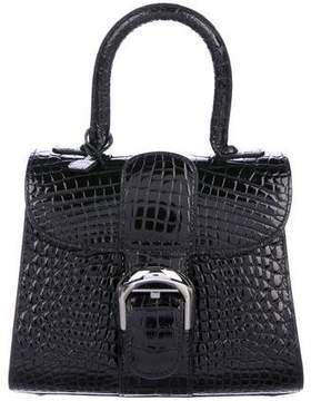 Delvaux Alligator Mini Brillant Bag