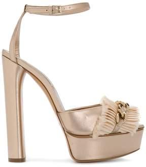 Casadei chunky chain sandals