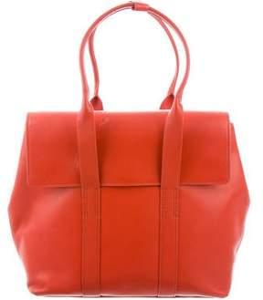 3.1 Phillip Lim Smooth Leather Flap Bag