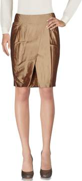 Alpha A A- Knee length skirts