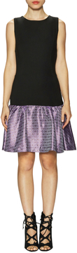 Erin Fetherston Women's Hepburn Droppped Jacquard Sleeveless Dress