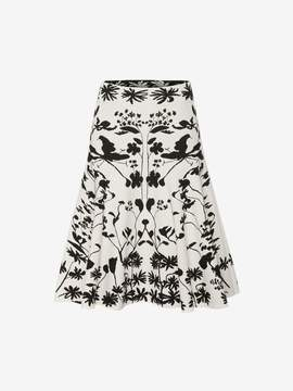 Alexander McQueen Knitted Mini Skirt