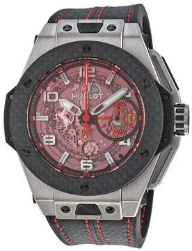 Hublot Big Bang Ferrari Chronograph Skeleton Dial Men's Watch