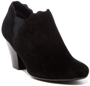 VANELi Jedi Scalloped Block Heel Bootie - Wide Width Available