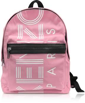 Kenzo Flamingo Pink Nylon Medium Sport Backpack