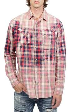 Cult of Individuality Clint Cotton Button-Down Shirt