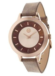 Earth Autumn Rose Gold Watch.