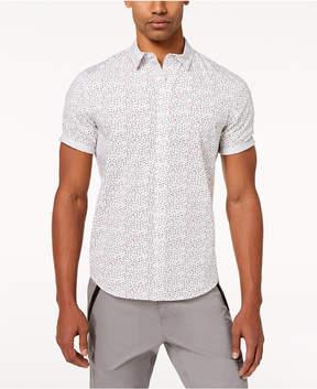 Sean John Men's Flight Geo-Print Shirt, Created for Macy's