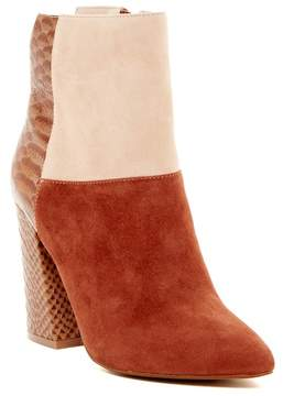 Kristin Cavallari by Chinese Laundry Santorini Reptile Embossed Leather/Suede Boot