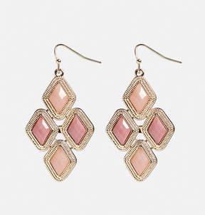 Avenue Mini Pink Chandelier Earrings