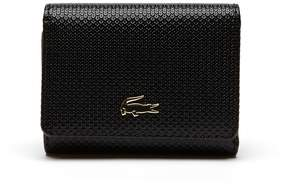 Lacoste Women's Chantaco Pique Leather Six Card Wallet