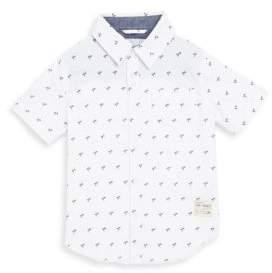 Joe's Jeans Little Boy's Printed Cotton Sportshirt