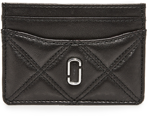 Marc Jacobs Double J Card Case - BLACK - STYLE