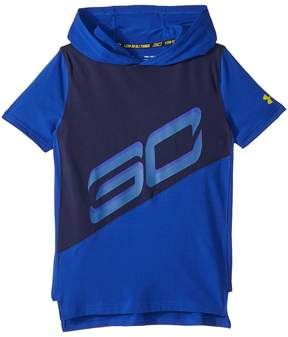 Under Armour Kids Steph Curry 30 Short Sleeve Hoodie Boy's Clothing