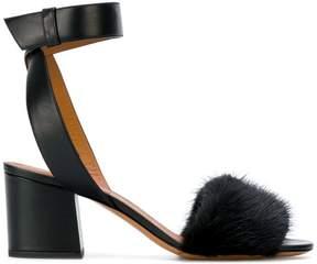 Givenchy open toe block heel sandals