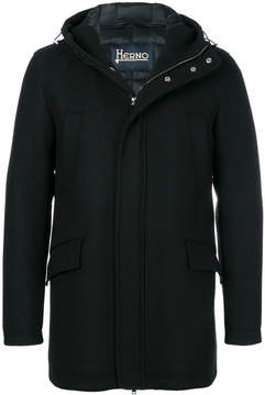 Herno hooded coat