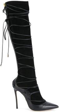 DSQUARED2 knee high Riri boots