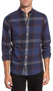 Gant Men's Slim Fit Plaid Sport Shirt