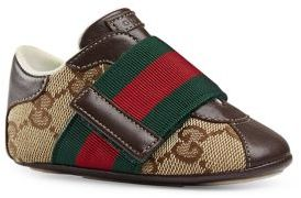Gucci Baby's GG Canvas & Leather Sneakers