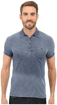 Mavi Jeans Striped Polo Tee Men's Short Sleeve Knit