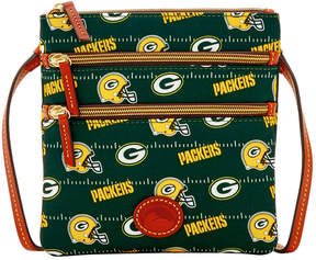 Dooney & Bourke Green Bay Packers Nylon Triple Zip Crossbody - GREEN - STYLE