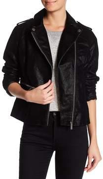 Blanc Noir BNCI by Faux Leather Moto Jacket