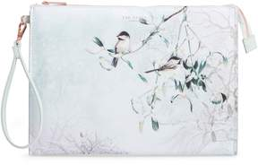Ted Baker Karlie Faux Leather Wristlet Pouch
