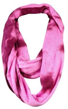 BCBGeneration Women's Ribbed Tie-Dye Loop Infinity Scarf (OS, Passion)