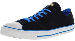 Converse Chuck Taylor All Star Ox Black / Blue Ankle-High Fashion Sneaker - 13M 11M
