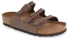 Birkenstock Women's 'Florida Birkibuc' Soft Footbed Sandal