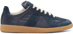 Maison Margiela Navy Replica Sneakers