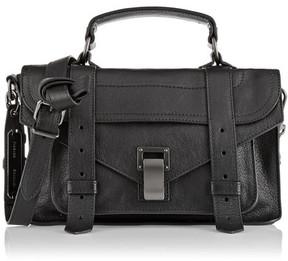 Proenza Schouler The Ps1 Tiny Leather Satchel - Black