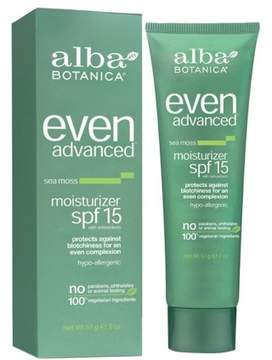 Alba Even Advanced Moisturizer, SPF 15 Sea Moss