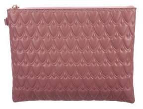 Reece Hudson Textured Leather Clutch