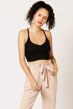 Azalea Knitted Cami Crop Top